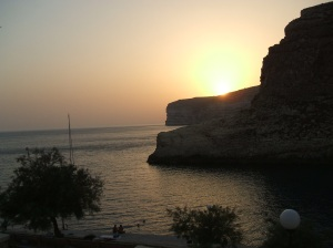 Xlendi sunset