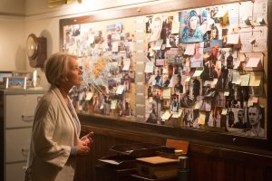Colonel Katherine Powell (Helen Mirren) in a scene from EYE IN THE SKY, directed by Gavin Hood. In cinemas 24 March 2016. An Entertainment One Films release. For more information contact Claire Fromm: cfromm@entonegroup.com