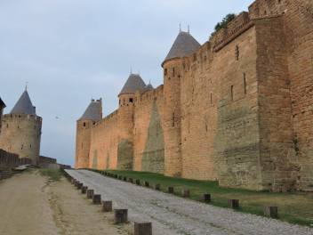 Carcassonne at dawn