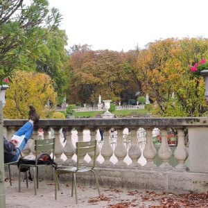 For a snooze with a view, nowhere beats Jardin du Luxembourg, especially when the season is just starting to turn.