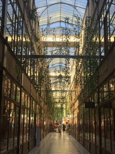 This Parisian passage is part hanging garden, part jungle, and all gorgeous!